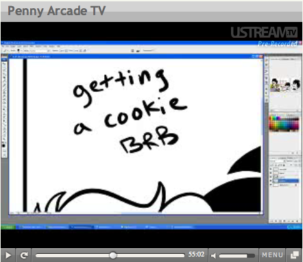 "Penny Arcade - ""Cookie BRB"""