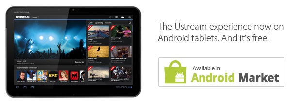 Ustream for Android
