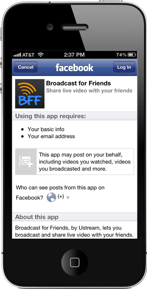 Broadcast for Friends: The Future of Social Broadcasting