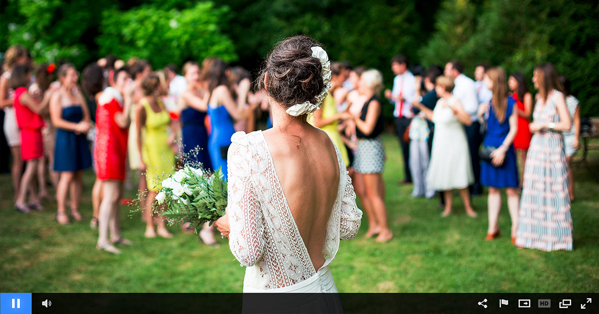Streaming Weddings As Easy As 1, 2, 3