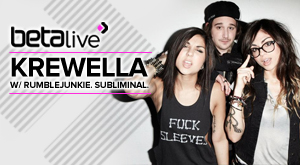 Krewella Live on Beta Nightclub!