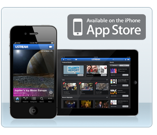 Ustream App for iPhone