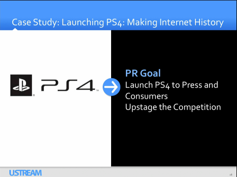 Playstation on Ustream