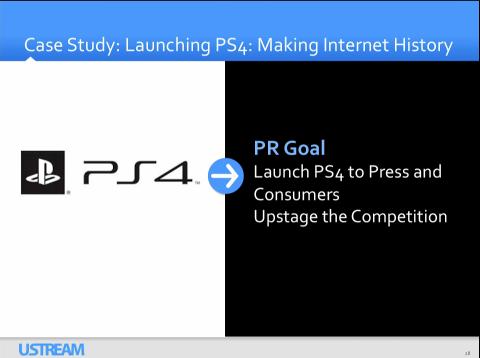 Playstation on Ustream