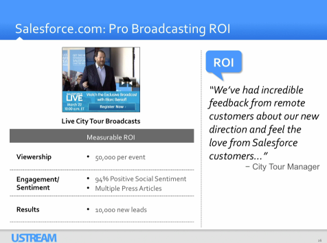 Salesforce on Ustream