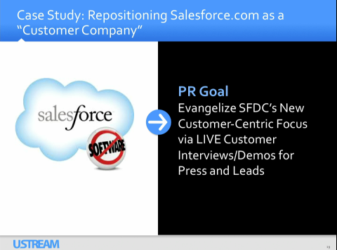 Salesforce on Ustream