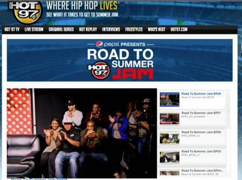 Hot97 SummerJam on UStream