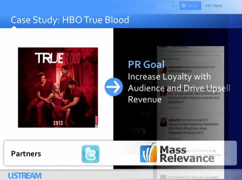 True Blood on Ustream