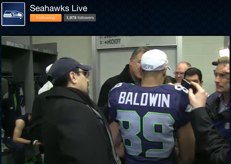 Seattle Seahawks Official Ustream Channel