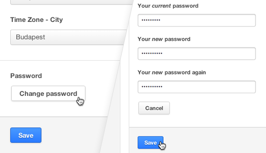 How to change your password on Ustream