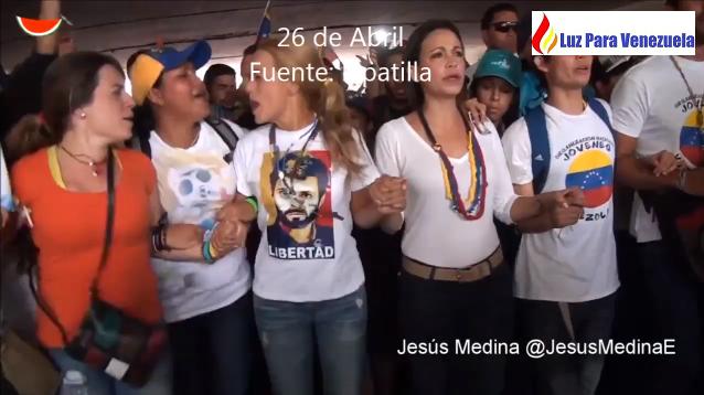 Luz Para Venezuela protest