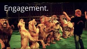 Audience engagement is key to getting your message heard and remembered.
