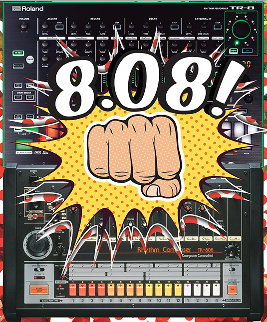 Roland TR-808 Worldwide Anniversary Party on August 8 ... on