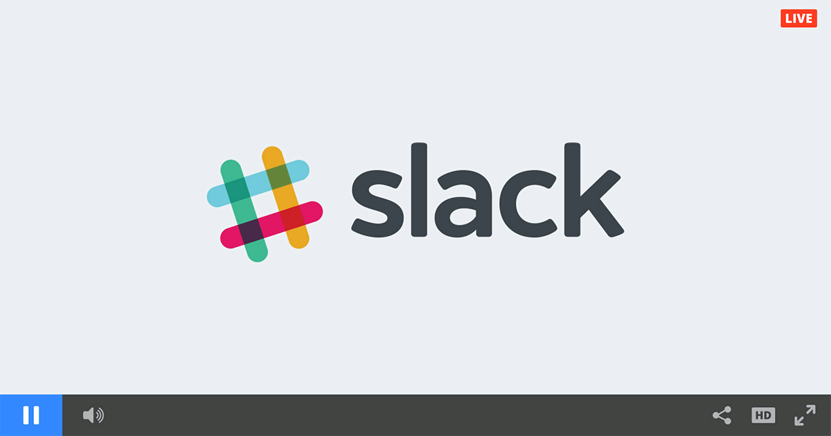 Slack Chat Integration for Internal Video Channels
