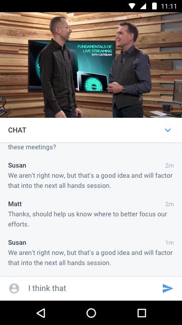 Enterprise Video Chat Integration for App