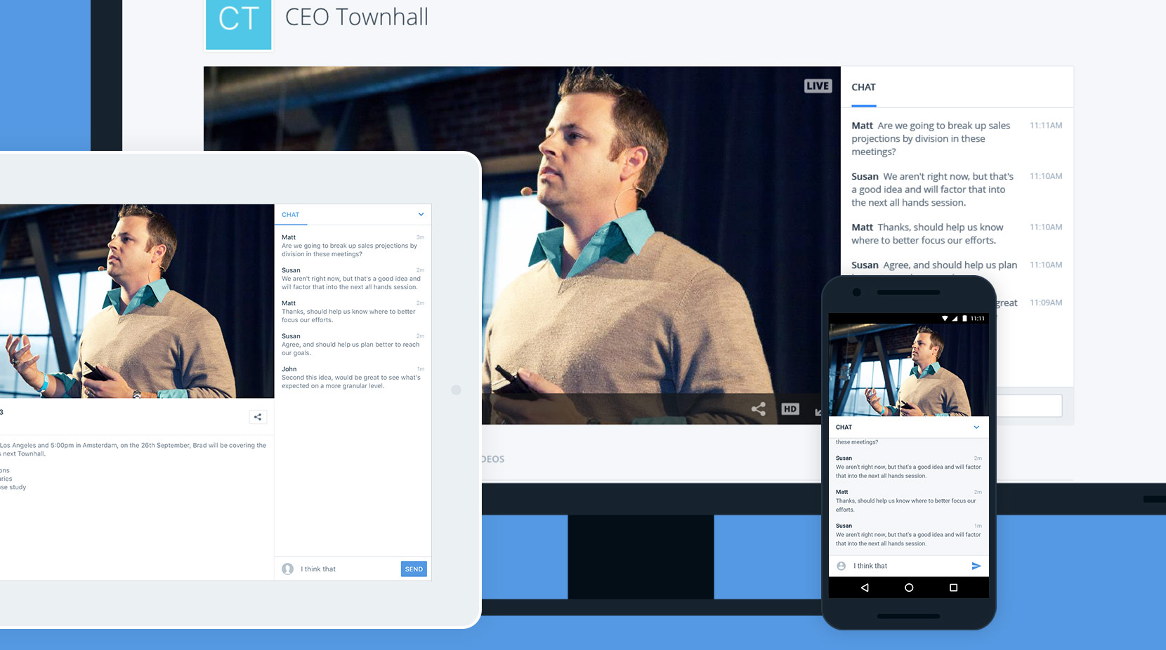 Enterprise Video: Chat Integration Module