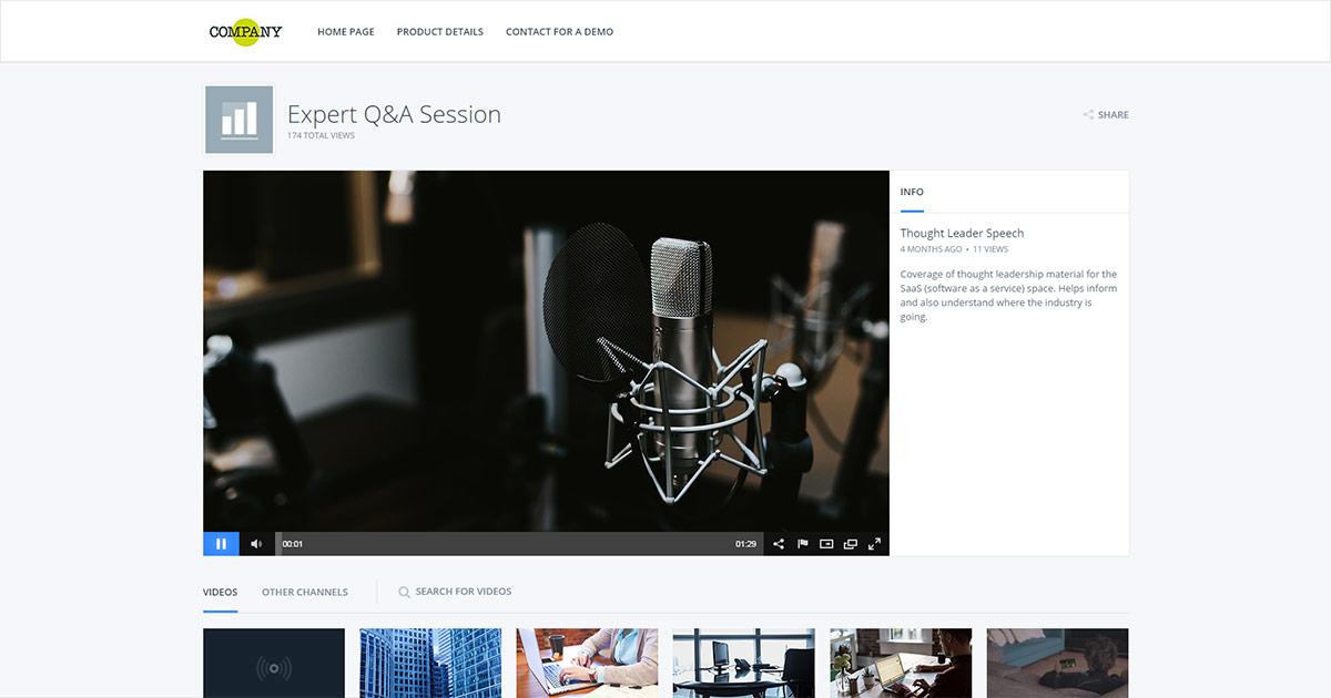 White Label Video Solutions for Enterprises
