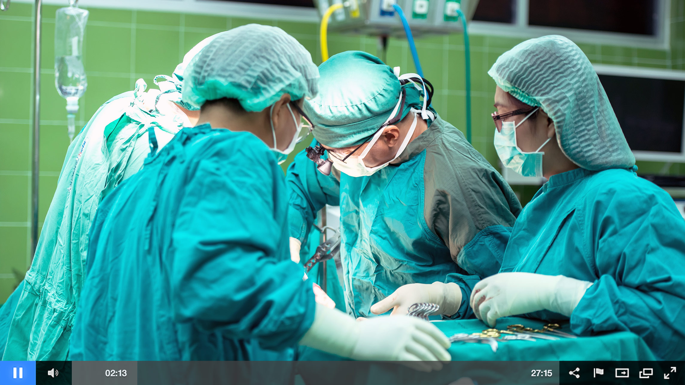 Live Stream Surgery for Patient Education