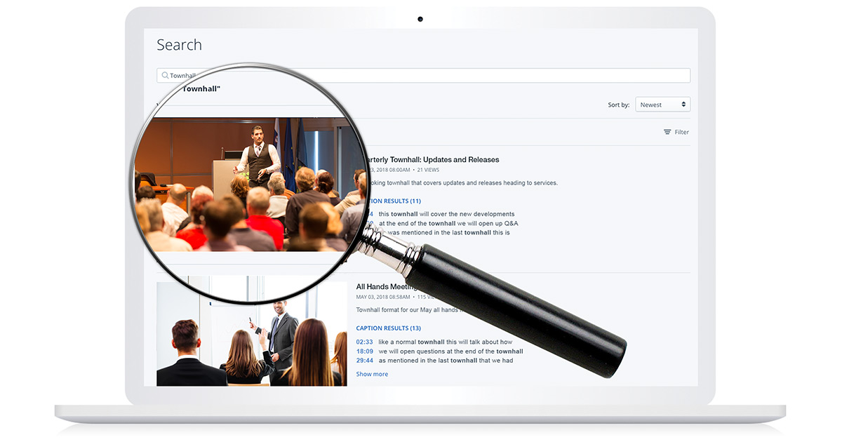 Enterprise Video Search and Discoverability