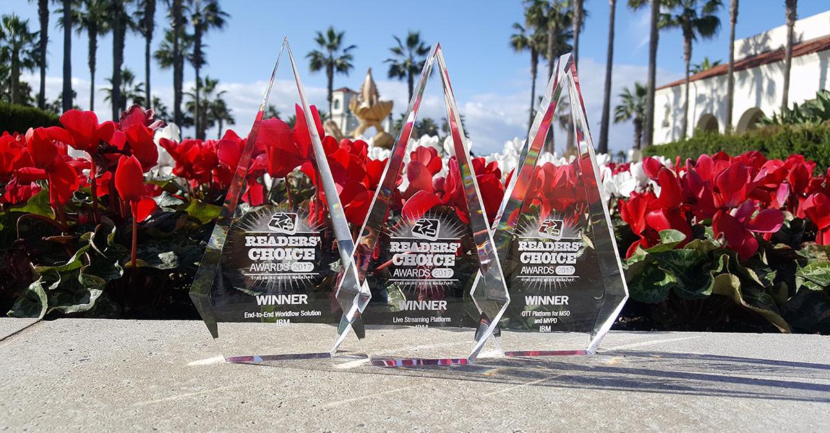 Streaming Media Readers' Choice Awards 2017 Winner