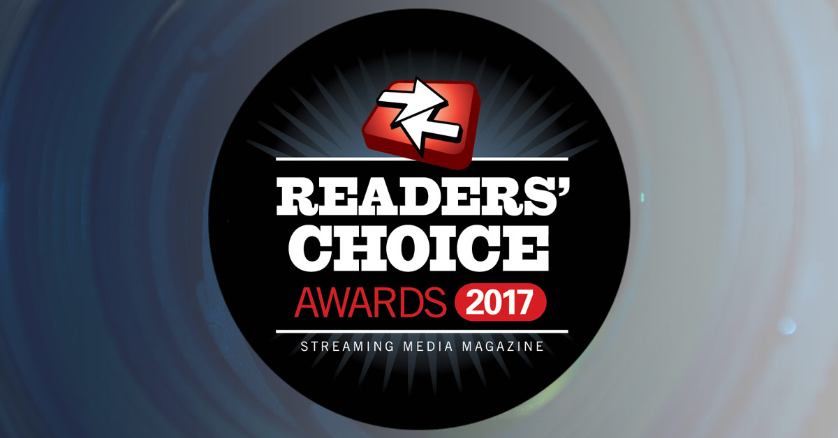 Streaming Media Readers' Choice Awards 2017