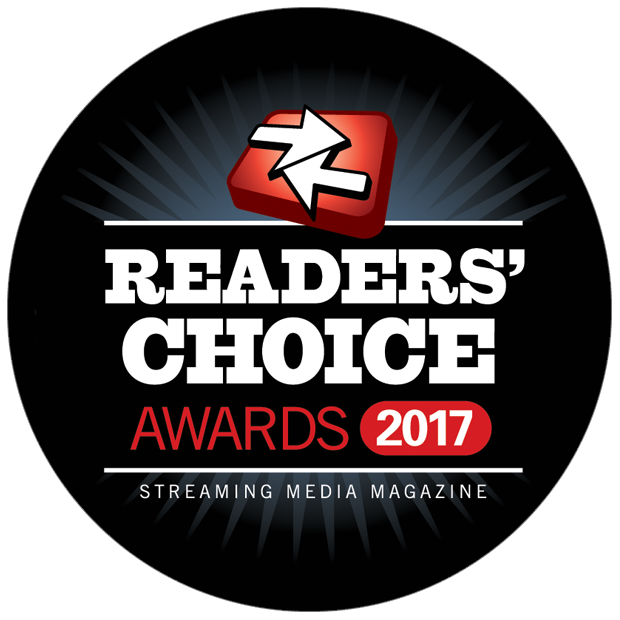 Streaming Media Readers Choice Awards 2017