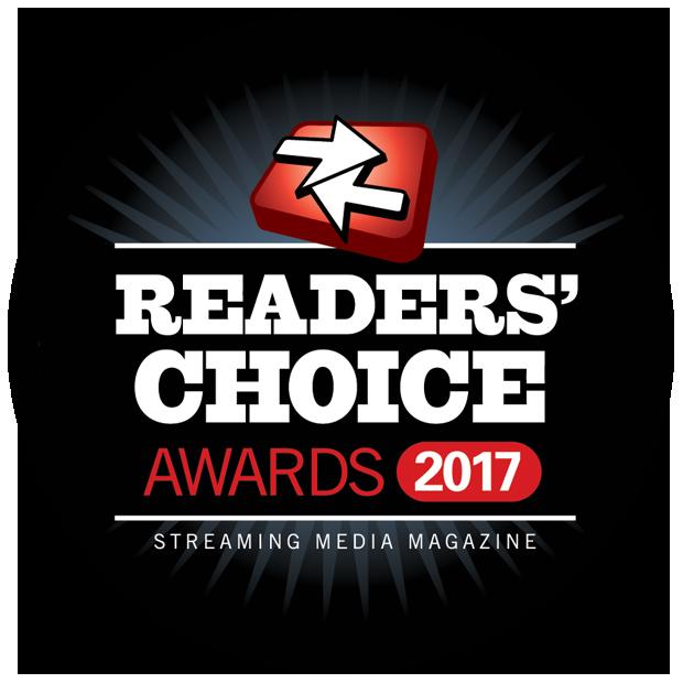 Streaming Media Readers Choice Awards 2017