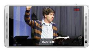 Streaming religious services