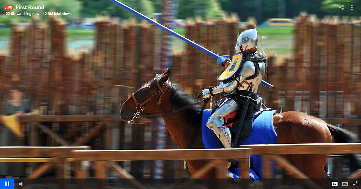 Would Jousting Championship Online