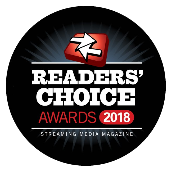 Streaming Media Readers' Choice Awards 2018 Logo