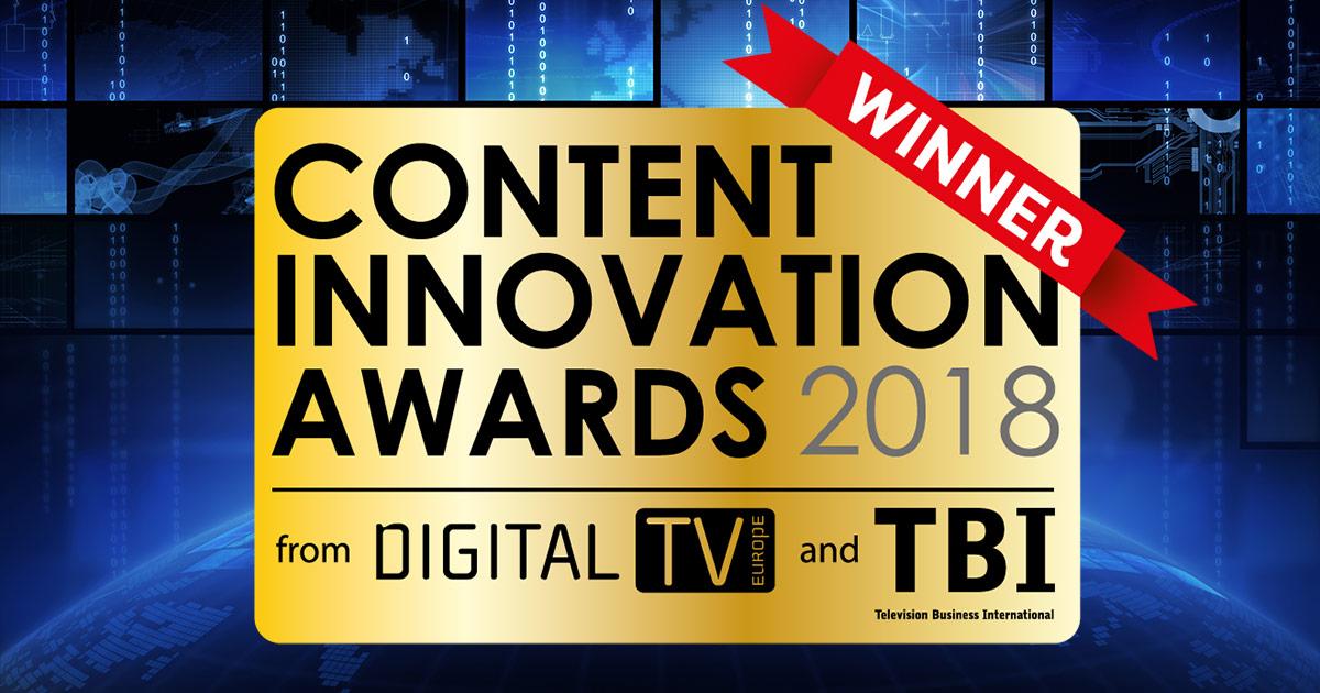 Content Innovation Awards 2018 Winner: IBM Watson Captioning