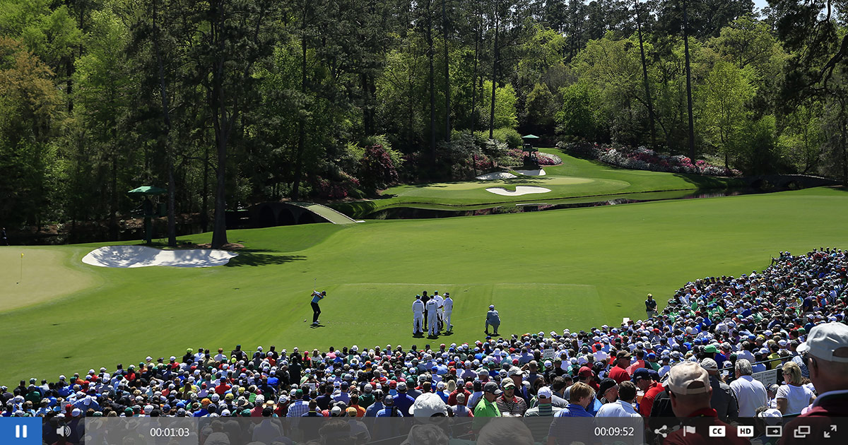 IBM Watson Media Powers Live Streaming of the Masters Tournament
