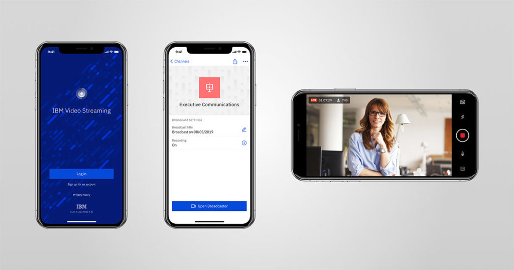 IBM Watson Media Launches Mobile Video Streaming App to Enhance Workplace Communication