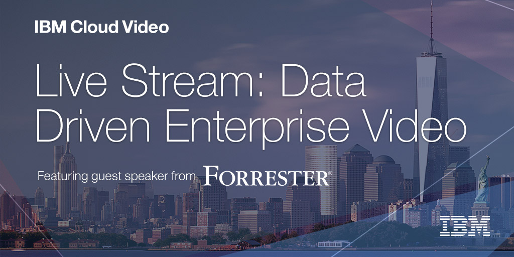 Data Driven Enterprise Video