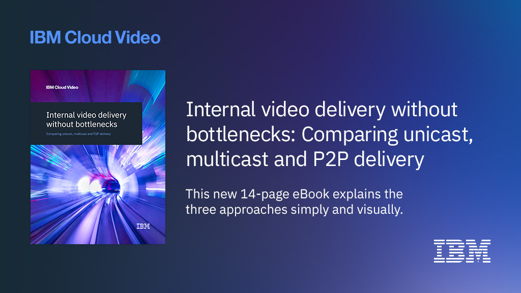 Internal Video Delivery eBook