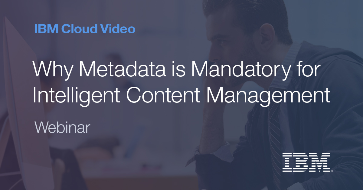 Why Metadata is Mandatory