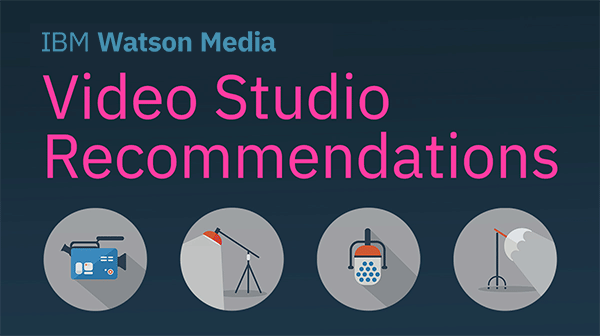 Video Studio Recommendations