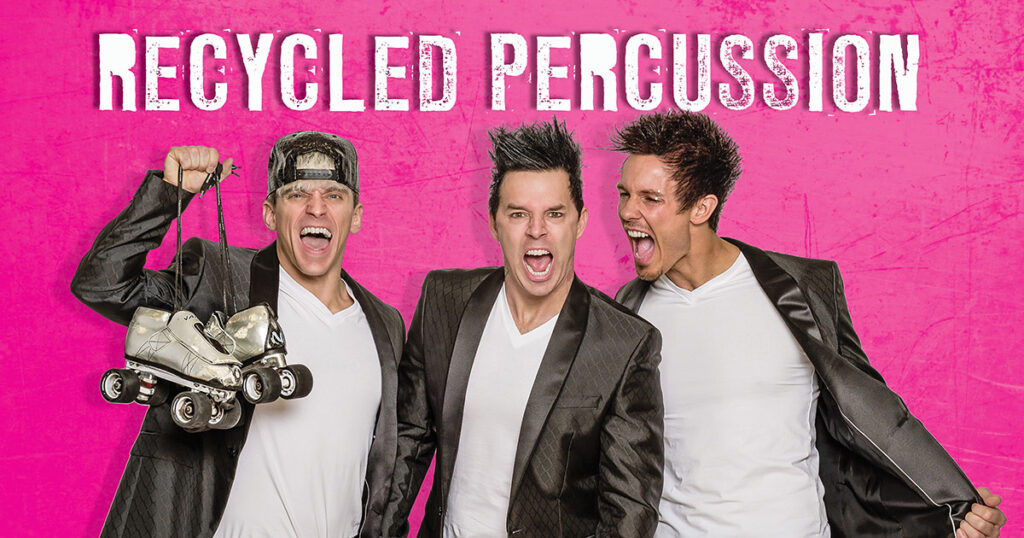 Recycled Percussion Takes on 24-hour Live Streaming Concerts