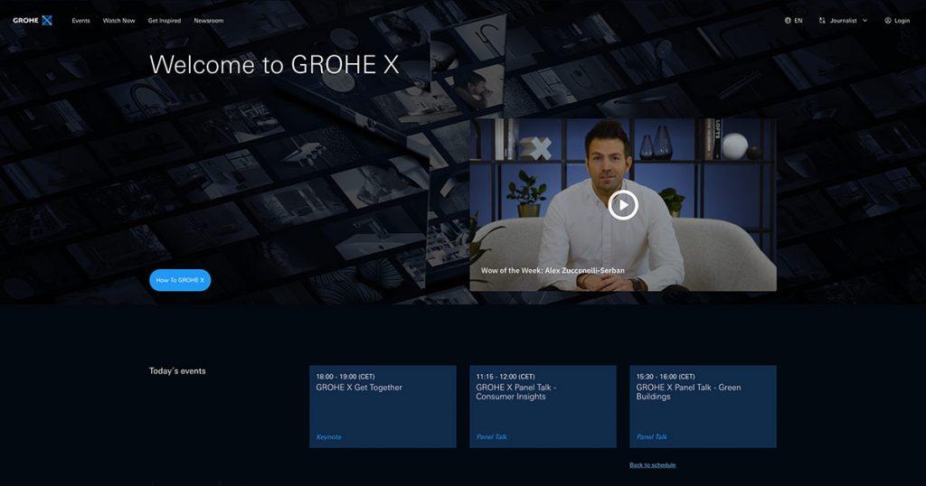 GROHE X Communications Hub