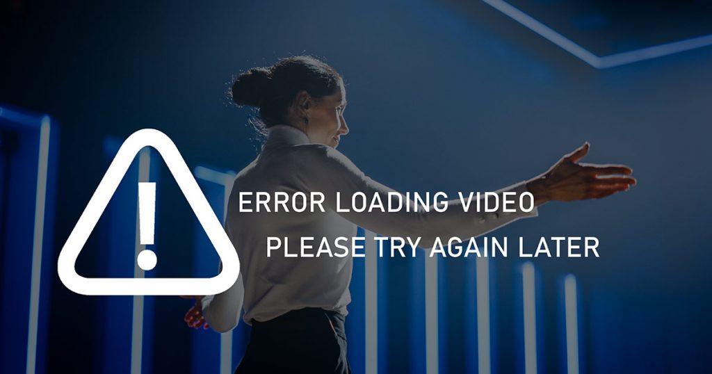 Error Loading Video